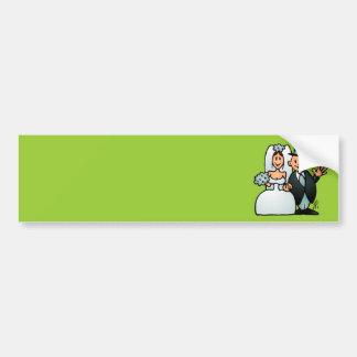 Wonderful Wedding Bumper Sticker