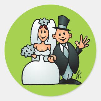 Wonderful Wedding Sticker