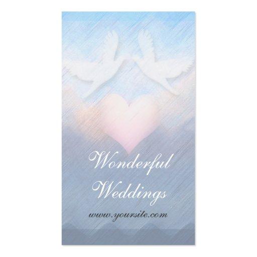 Wonderful Weddings Planner Business Card