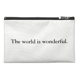 Wonderful World Travel Accessory Bag