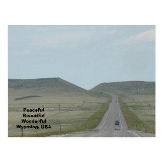 Wonderful Wyoming Postcard