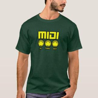 Wonderful yellow midi T-Shirt