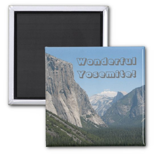 Wonderful Yosemite Magnet! Magnet
