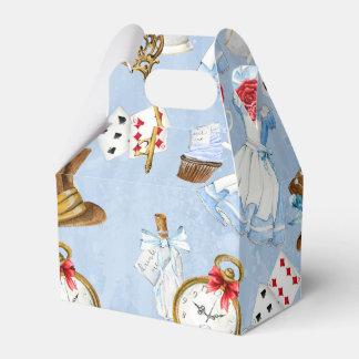 Wonderland Alice Pattern Favour Box