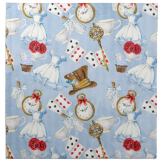 Wonderland Alice Pattern Napkin