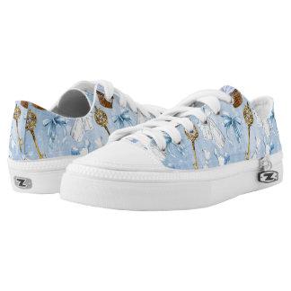 Wonderland Alice Pattern Printed Shoes