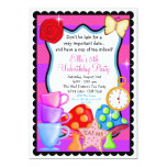 Wonderland  Birthday  Party Invitation