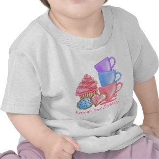 Wonderland  Birthday Tea Party Shirt