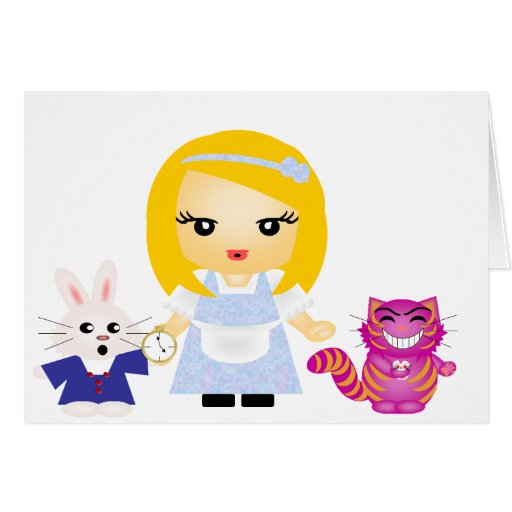 Wonderland Cards