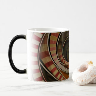 Wonderland Fractal Stairway, Three-Ringed Circus Magic Mug