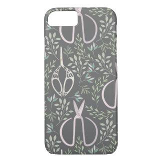 Wonderland Garden Shears Pattern iPhone 7 Case