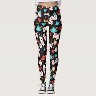 Wonderland Print Leggings