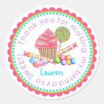 Wonderland Sweet Shop Stickers