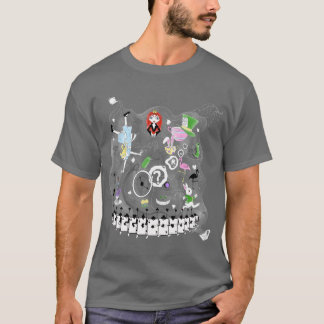 Wonderland teacups T-Shirt