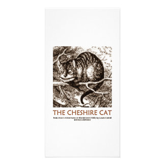 Wonderland The Cheshire Cat Photo Greeting Card