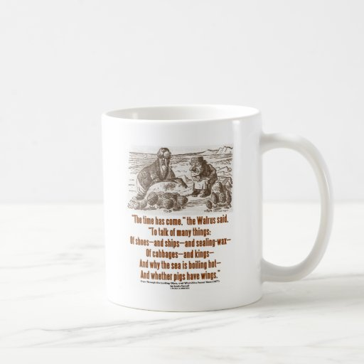 Wonderland Time Has Come Through Looking Glass Coffee Mug