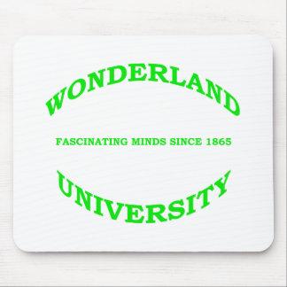 Wonderland University Mouse Pad