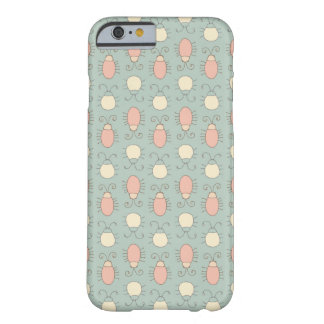 Wonderland Vintage Bugs Pattern Barely There iPhone 6 Case