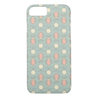 Wonderland Vintage Bugs Pattern iPhone 7 Case