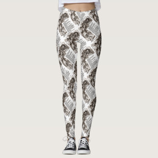 Wonderland Which Way I Ought To Go Quote Leggings