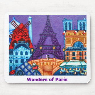 Wonders of Paris Mouse Pad