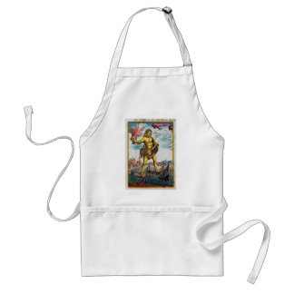 Wonders Of The Ancient World Standard Apron
