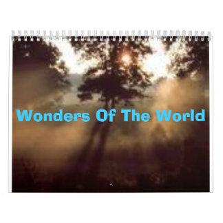 Wonders Of The World Calendars
