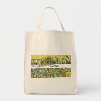 Wonderscapes Alice Organic Grocery Bag
