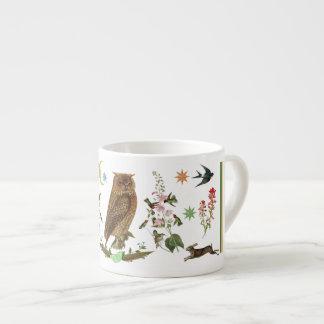 Wondrous Wise Owl Espresso Cup