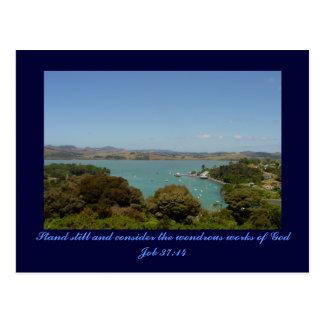 Wondrous Works [of God] - Job 37:14 Postcards