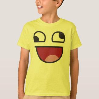 Wonky eye emoji tshirt