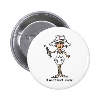 Won't Hurt! 6 Cm Round Badge