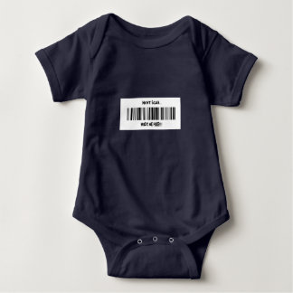WONT SCAN..IT MUST BE FREE BABY BODYSUIT