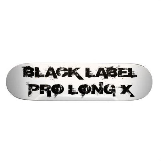 Wont Work Productions Black Label Pro Custom Skate Board