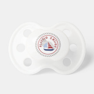 WONZ Limited little Sailor by shirt to design Baby Pacifiers