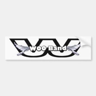 WOO Band Bumper Sticker