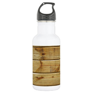 wood 532 ml water bottle