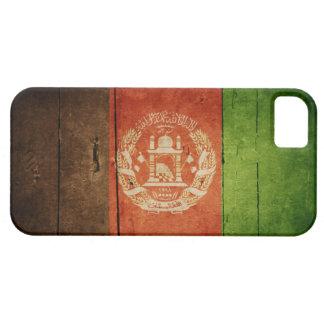 Wood Afghanistan Flag; Afghan iPhone 5 Covers