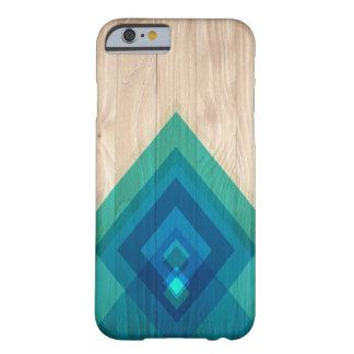 Wood and Diamonds Phone Case (blues)