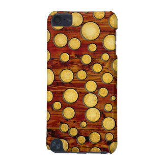 Wood and gold iPod touch (5th generation) case