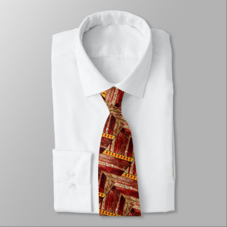 Wood and jewels tie