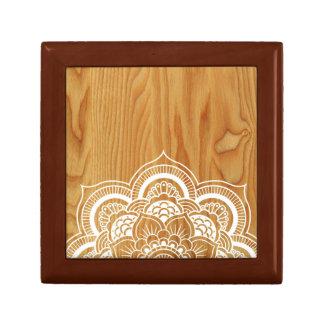 Wood and Mandala Gift Box