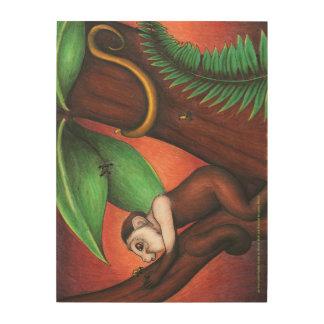 Wood Art from Little Monkey 18 x 24 ins