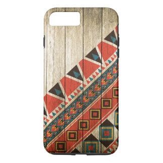 Wood Aztec Pattern Original iPhone 8 Plus/7 Plus Case