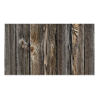 Wood Background Double-Sided Standard Business Cards (Pack Of 100)