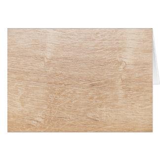 Wood background card