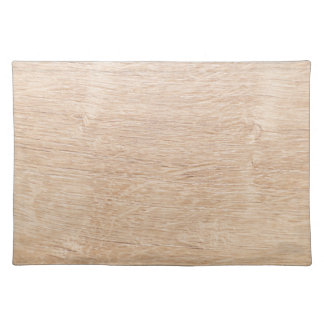 Wood background placemat
