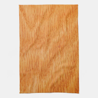 Wood Background - Smooth Bamboo Grain Customized Tea Towel