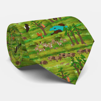 Wood Badge Scenery Tie