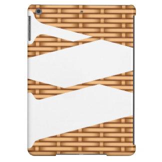 wood basket initial iPad Air Case